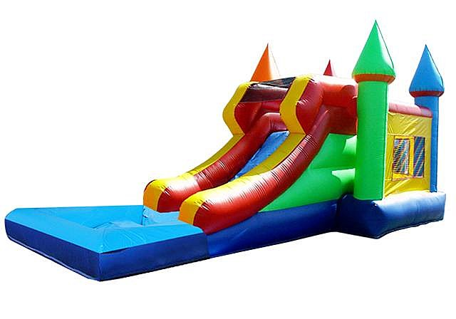 Combos with Water Slides (Wet/Dry)