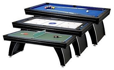3in1 Pool / Air Hockey / Tennis