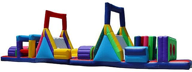 65-ft Obstacle Course